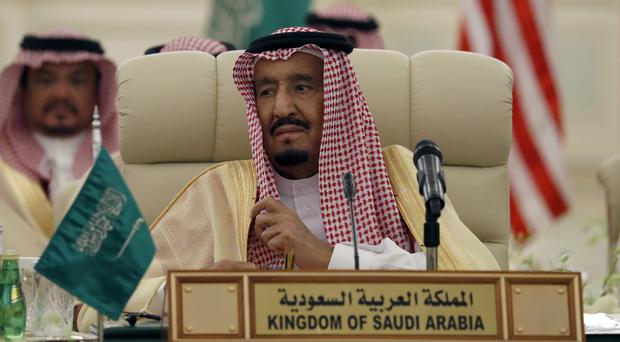 King Salman has ousted one of the country's highest-level royals from power (AP)