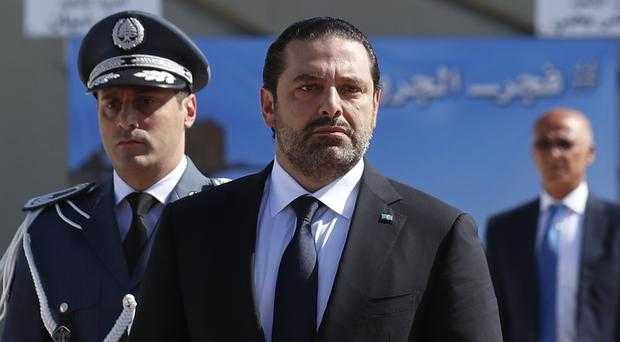 Saad Hariri's unexpected resignation stunned Lebanon and threw its government into disarray (AP)