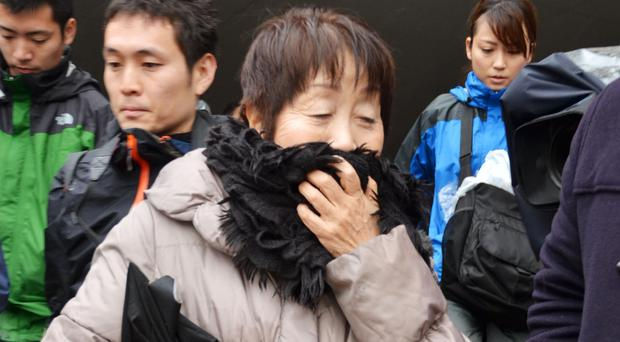 Chisako Kakehi poisoned her victims with cyanide after becoming the beneficiary of their wills (Kyodo News/AP)