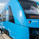 The Alstom hydrogen-powered trains will be running from 2021 (AP)