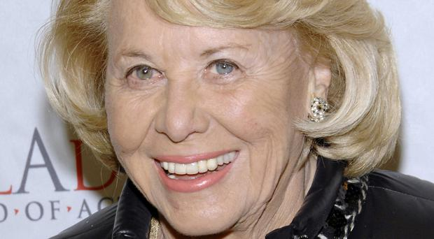 Gossip columnist Liz Smith who has died aged 94 (AP Photo/Evan Agostini, File)