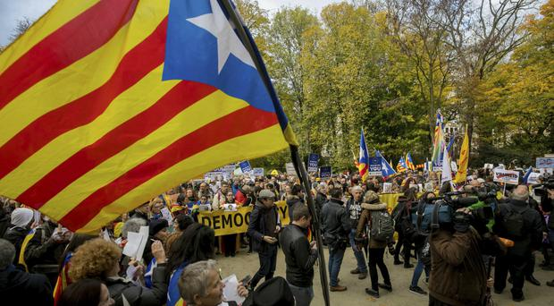 The Spanish government took control of Catalonia's powers and called a snap regional election after the Catalan government held a banned independence referendum (AP)