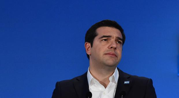 Alexis Tsipras is trailing in the polls