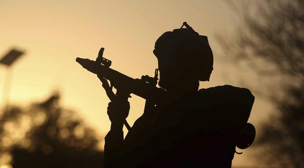 Security forces in Afghanistan have been targeted in a number of attacks by the Taliban (Massoud Hossaini/AP/PA)