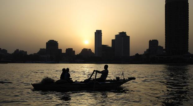 An Egyptian singer is facing a trial for mocking the Nile (AP)