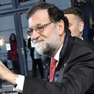 Mariano Rajoy arrives for the EU social summit in Gothenburg, Sweden (TT News Agency/AP)