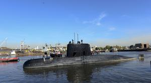 Argentina's Navy said on Friday it had lost contact with its ARA San Juan submarine off the country's southern coast (Argentina Navy via AP )