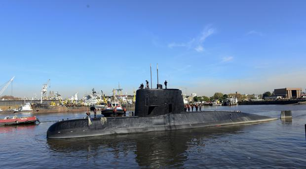 Argentina's Navy Launches Search For Missing Submarine With 44 Crew Aboard