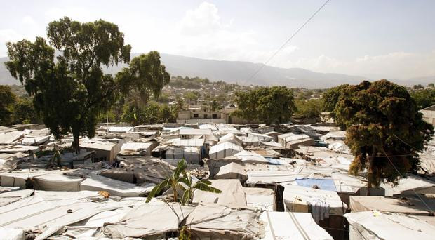 Haiti was hit by a powerful earthquake in 2010