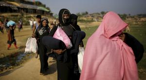 Rohingya Muslims have been the victims of