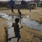 Rohingya Muslim children at the Thaingkhali refugee camp in Bangladesh (AP Photo/Wong Maye-E)