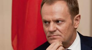 Donald Tusk said the EU will never recognise the illegal annexation of Crimea