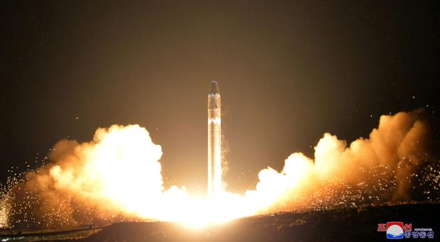 North Korea's Latest ICBM Broke Up on Re-entry