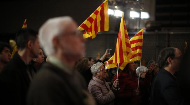 Catalan separatists divided ahead of knife-edge election