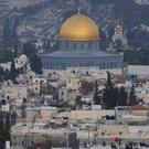 Jerusalem's old city is seen as US officials said that President Donald Trump will recognise the holy city as Israel's capital on Wednesday (AP Photo/Oded Balilty)