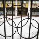 The building of the Russian Olympic Committee in Moscow (AP Photo/Alexander Zemlianichenko)