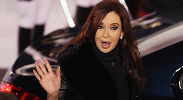 Cristina Fernandez was president of Argentina from 2007 to 2015