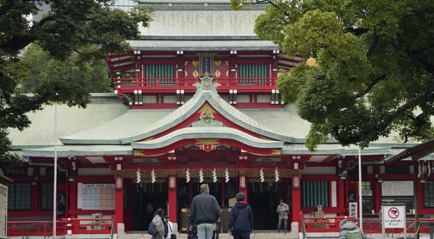 Priest fatally stabbed with samurai sword at Tokyo shrine