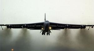 Stock picture of a B52, the plane involved in the incident