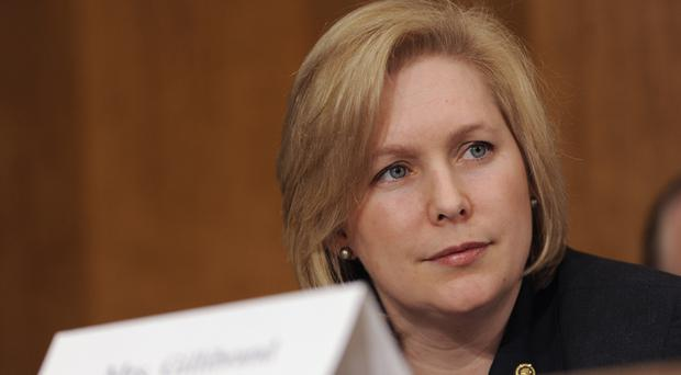 Kirsten Gillibrand is seen by some as a potential candidate for the White House (AP)