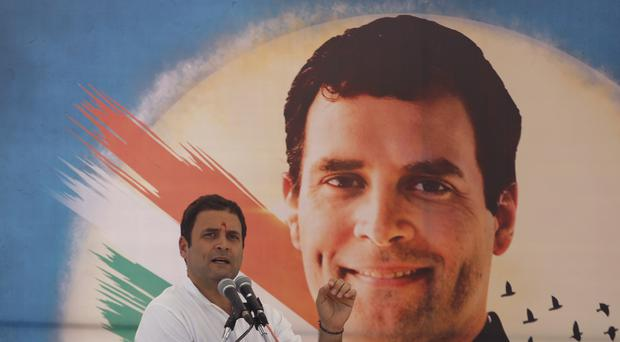 Rahul Gandhi has succeeded his mother, Sonia Gandhi, as president of India's opposition Congress party (AP Photo/Ajit Solanki, File)