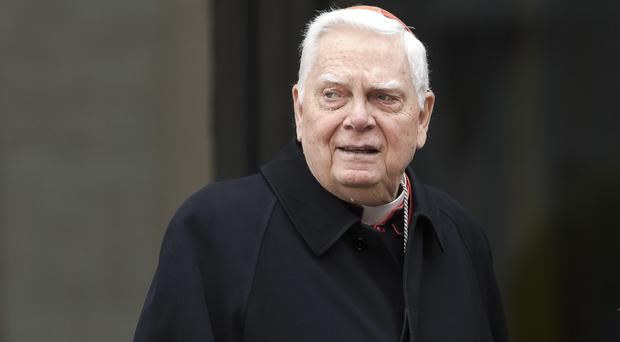 Cardinal Bernard Law has died aged 86 (AP Photo/Alessandra Tarantino, File)