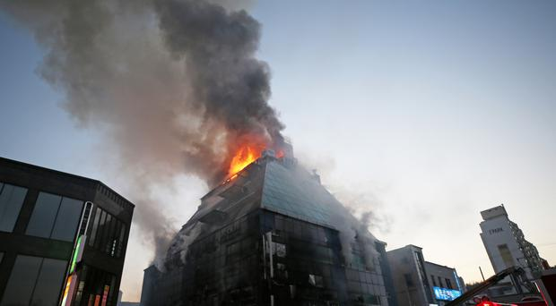 South Korea fire at public gym and sauna kills 29