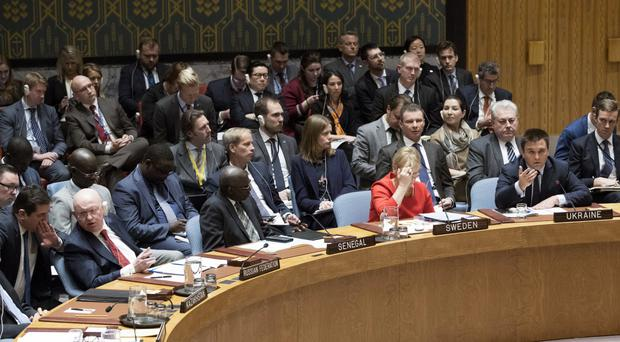 The UN Security Council will vote on new North Korea sanctions (AP Photo/Mary Altaffer)