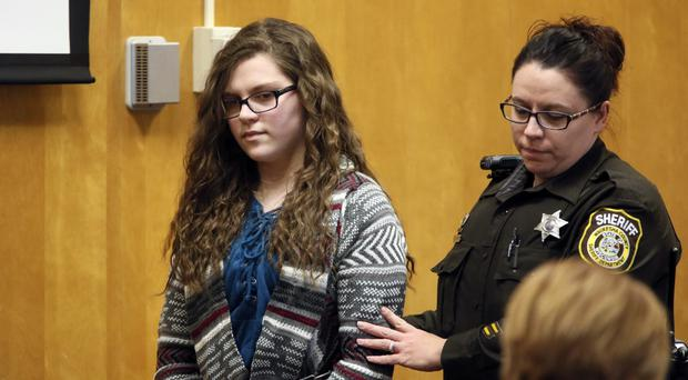 Anissa Weier, one of two Wisconsin girls who tried to kill a classmate to win favour with a fictional horror character named Slender Man (AP)