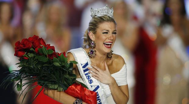 Miss New York Mallory Hytes Hagan was crowned Miss America 2013 in Las Vegas (AP)