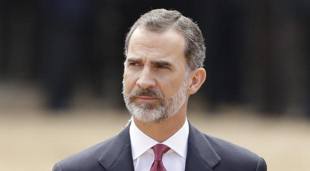 King Felipe VI addressed Catalonian independence in his Christmas Eve speech