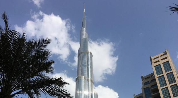 Dubai's Burj Khalifa is a symbol of the UAE's wealth