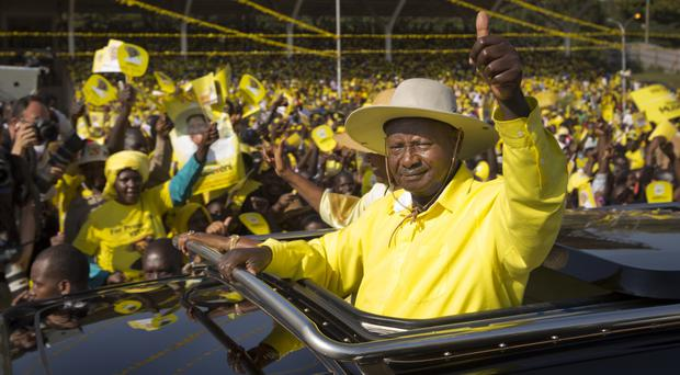 Ugandan leader Museveni signs bill removing presidential age limit