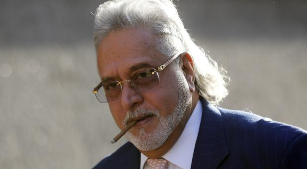 File photo of Indian tycoon Vijay Mallya at Westminster Magistrates' Court in London (AP)