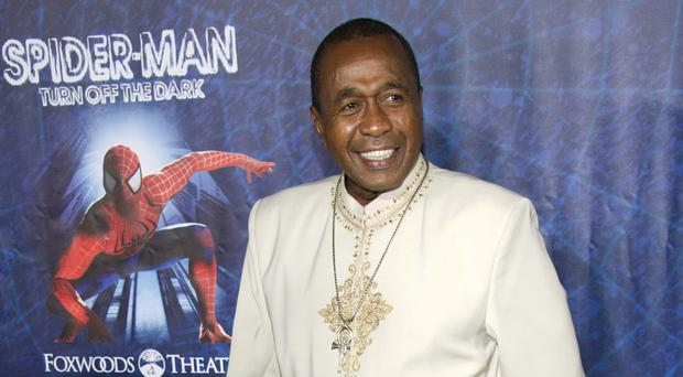Ben Vereen pictured in 2011 at the opening night performance of the Broadway musical Spider-Man Turn Off the Dark in New York (AP Photo/Charles Sykes, File)