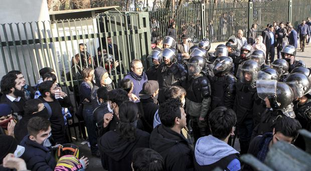 Iran has warned neighbouring countries not to exploit recent protests