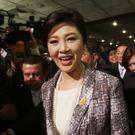 Yingluck Shinawatra's government was ousted in a 2014 coup (AP)