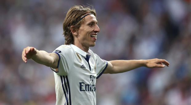 Luka Modric has been playing for Real Madrid since being signed from Tottenham in 2012