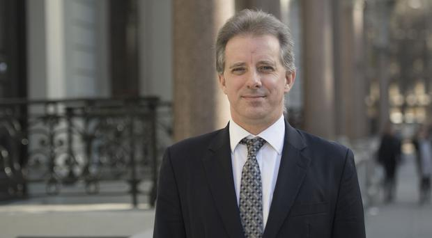 Christopher Steele, the former MI6 agent who wrote a dossier of allegations about Donald Trump