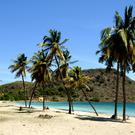 A beach in the Caribbean (file)