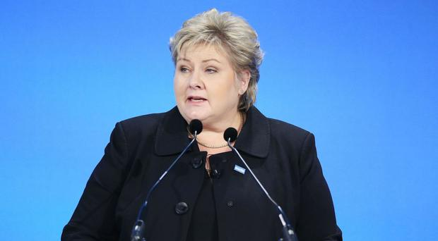 Norwegian Prime Minister Erna Solberg said Odvar Nordl, who has died aged 90, was a 'key politician'