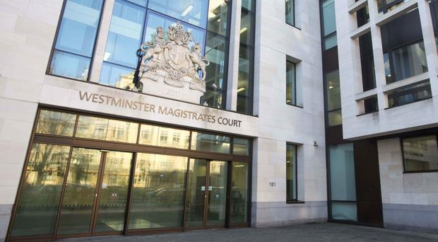 Alexandre Djouhri is due at Westminster Magistrates' Court for a bail hearing