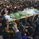 The funeral of a Pakistani girl who was raped and killed in Kasur (AP)