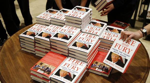 Fire And Fury was the top-selling book in the US last week (AP)