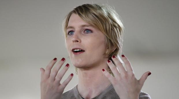 Chelsea Manning, the transgender former Army intelligence analyst who was convicted of leaking classified documents, filed her statement of candidacy with the Federal Election Commission to run for the US Senate in Maryland. (AP Photo/Steven Senne)