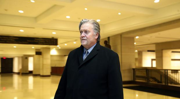 Former White House strategist Steve Bannon is expected to co-operate with investigators (AP)
