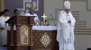 The Pope's remarks overshadowed his visit to Chile (AP)