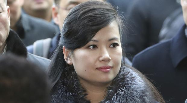 North Korean Hyon Song Wol, head of North Korea'sart troupe, arrives at the Seoul (Korea Pool/AP)