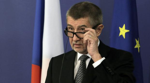 Mr Babis has acknowledged that the next government may not include him (AP)