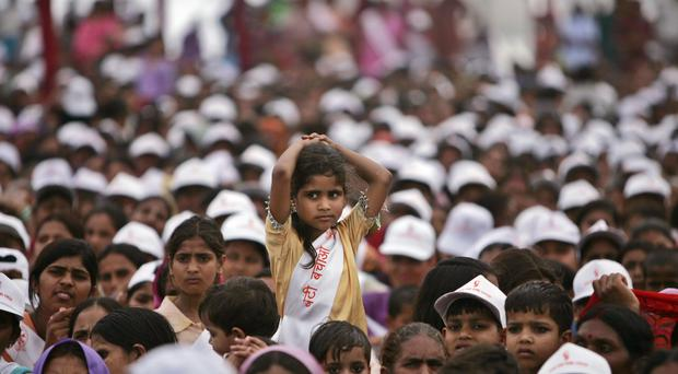 "A preference for boys in Indian society has left more than 63 million women statistically ""missing"" (AP)"